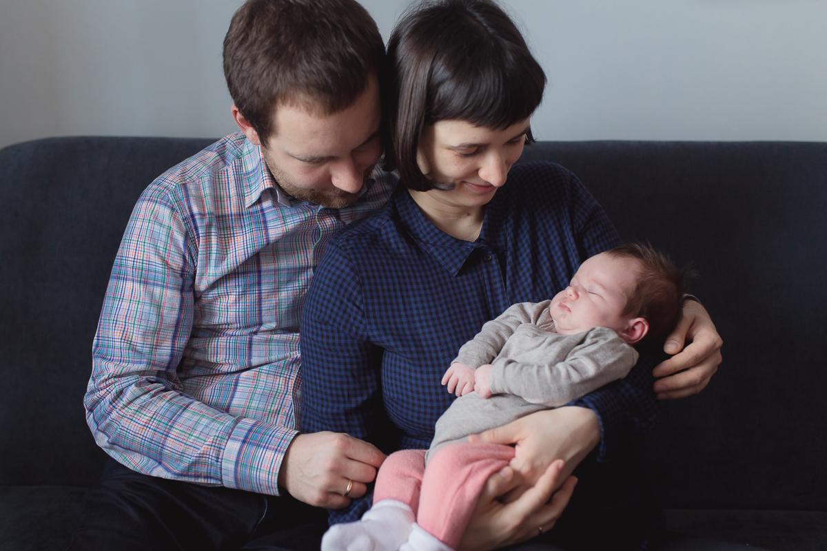 Domowa sesja noworodkowa w Wieliczce