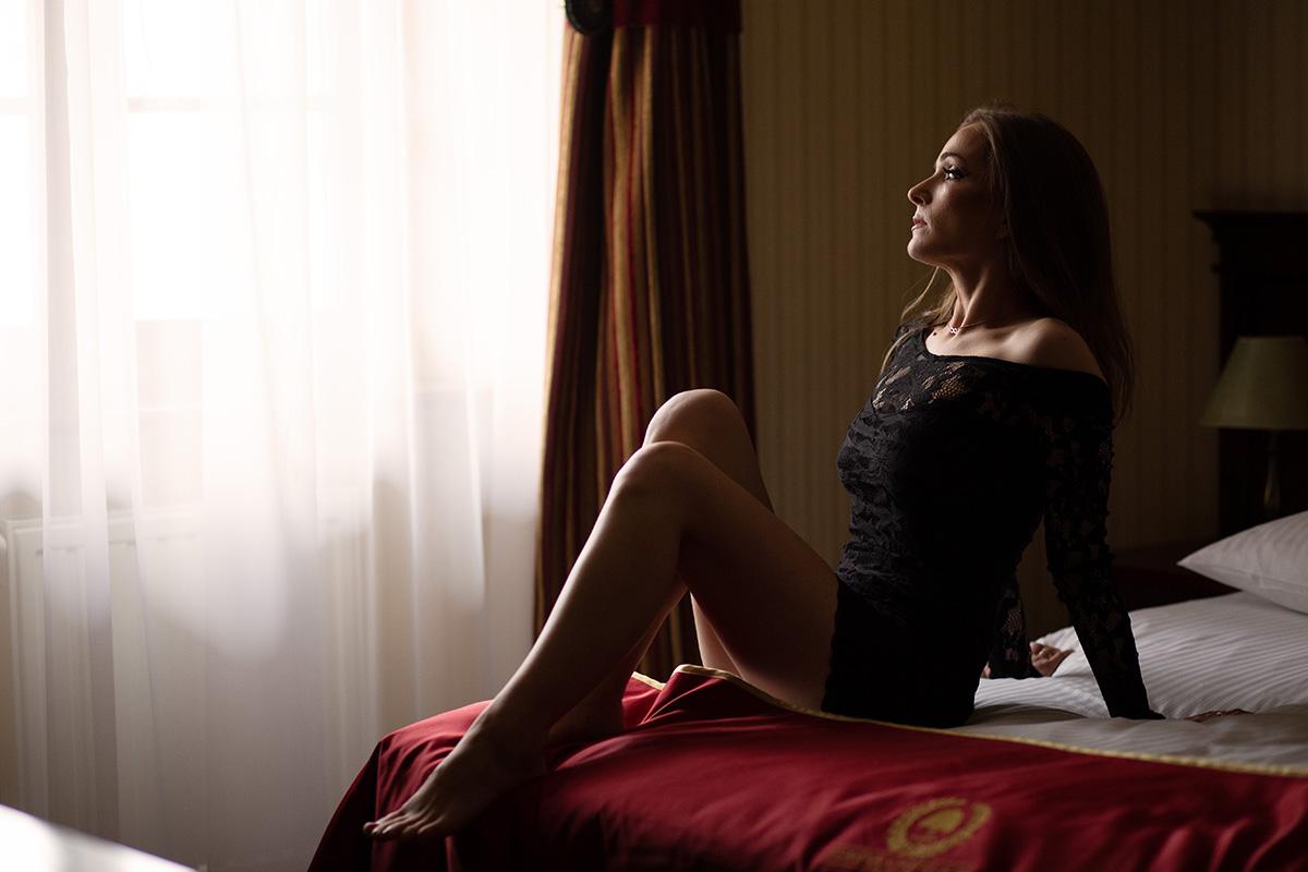 Sesja sensualna w hotelu